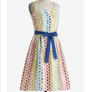 ModCloth Bea & Dot In the Key of Chic Dress